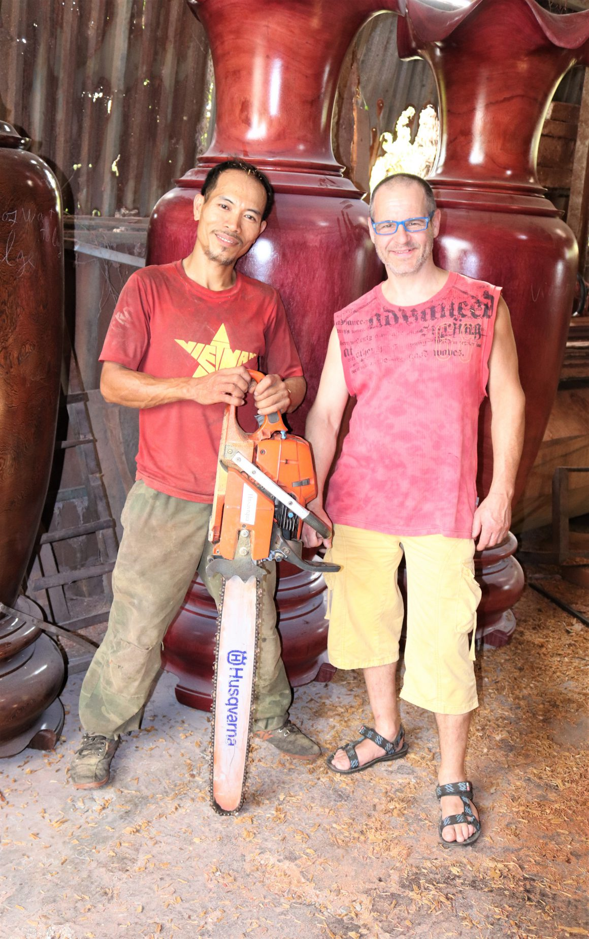 vietnam woodturning